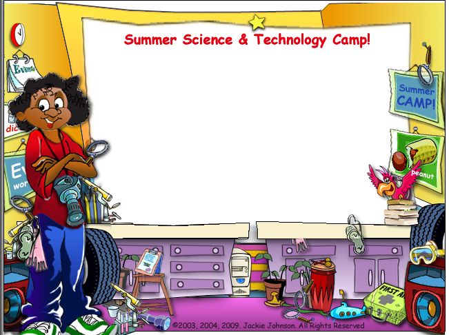 Mop Top Shop Summer Science & Technology Camp graphic